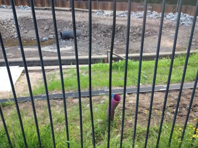 Further fence damage